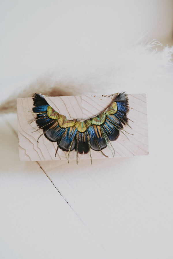 collier-plume-colore-paon
